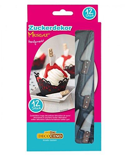 sser aus Zucker zur Dekoration von Muffins & Torten (Halloween-torte)