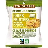 Ethiquable chips de banane plantain fruitées 85g - ( Prix Unitaire ) - Envoi Rapide Et Soignée