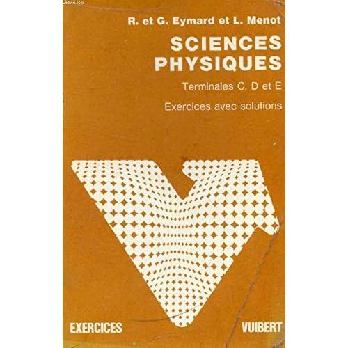 Exercices de sciences physiques