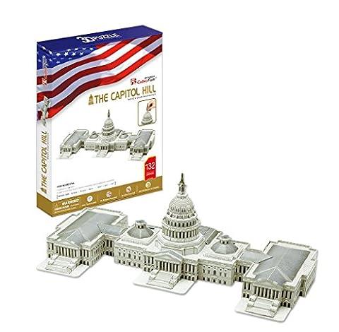 CubicFun Capitol Washington USA 3D