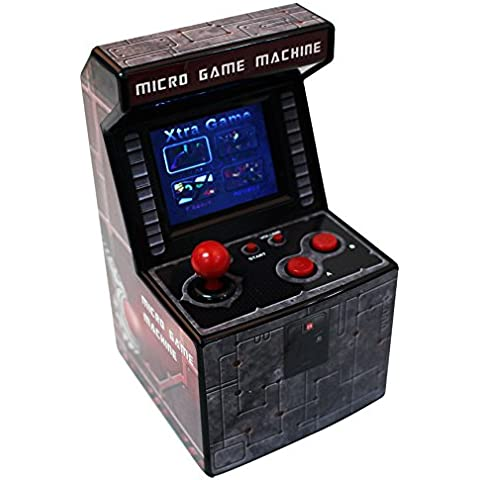 Snappi My Arcade Retro Machine Handheld juego System with 240 Built-in Video Games Series IV (Darkred-4)