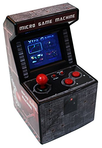 Preisvergleich Produktbild Snappi Mini Arcade Game Machine Toy Errichtet in den Spielen [240 Video Games] - series (Dunkelrot(Darkred))