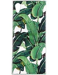 Sony Xperia XA1 Coque, Sony Xperia XA1 Housse, Sony Xperia XA1 Etui,BONROY® Motif coloré Ultra-Mince Thin Soft Silicone Etui de Protection pour Souple Gel TPU Bumper Poussiere Resistance Anti-Scratch Case Cover Couverture Pour Sony Xperia XA1