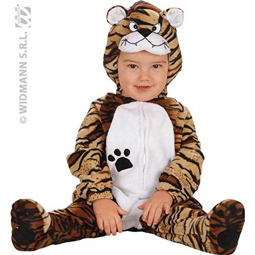 Kostüm Baby Tiger Mütze - Süßes Kostüm Kleiner Tiger 80/86 Für Babys (Overall Und Mütze)