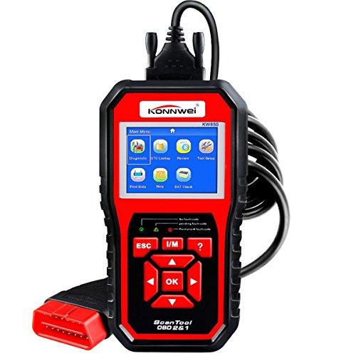 Schalten Auto-update Sie (OBDII Auto-Diagnose Scanner KONNWEI KW850OBD2EOBD Komplette System Scan Werkzeug, Best Überprüfen Engine Code Scanner)