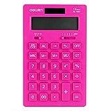 Solar Energy Dual Power Calculator Wissenschaftlicher Taschenrechner -Rosa