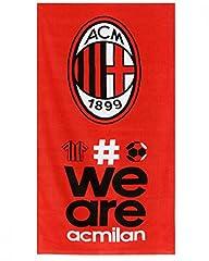 Idea Regalo - Telo Mare Milan 70X140 cm Ufficiale ACM Milan Calcio PS 09521