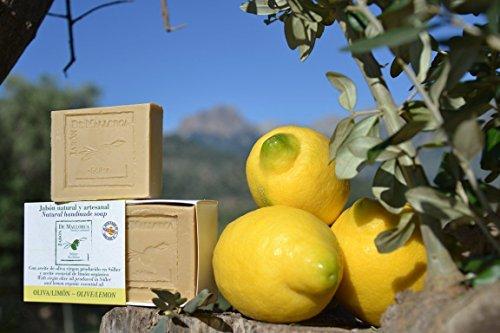 Natürliche Zitrone und Olivenölseife aus Mallorca - Zitrone Natürliche Seife