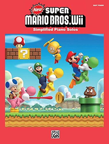 Super Mario Bros for Wii Easy Piano Solo Book