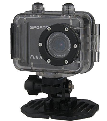 DENVER ACT-5001 Full HD Action Kamera Wasserdicht IPX8 5cm TFT Display