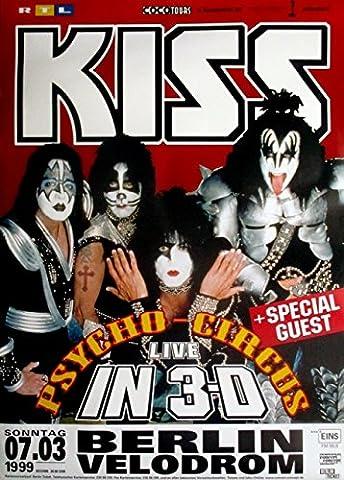 Kiss–Psycho Circus Tour Poster 1999–Concert Berlin