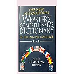 THE NEW INTERNATIONAL WEBSTER,S COMPREHENSIVE DICTIONARY[DELUXE EDITION]