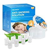 Neomen® Snore Stopper Nose Vents - Set of 4 Premium Anti Snoring Sleep Aid Devices - Best Anti Snore Solution for Stop Snoring