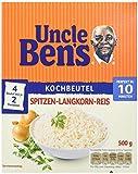 Uncle Ben's® Spitzen-Langkorn-Reis 10-Minuten Kochbeutel, 4er Pack (4 x 500g)