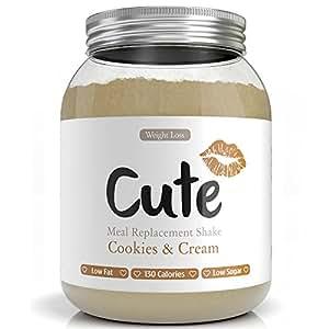 Frullati / Shakes Proteici Dimagranti - Sostitutivi del Pasto Sapore Biscotti e Crema - Dieta per Dimagrire e Tenersi in Forma - Bevande Iperproteici e Ipocalorici - in Omaggio Guida per Perdere Peso