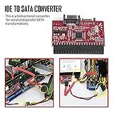 fghdfdhfdgjhh Roter, Leichter, robuster IDE HDD/SATA Serial ATA Converter Adapter Festplatten-Support für ATA 133 100 HDD CD-Adapter