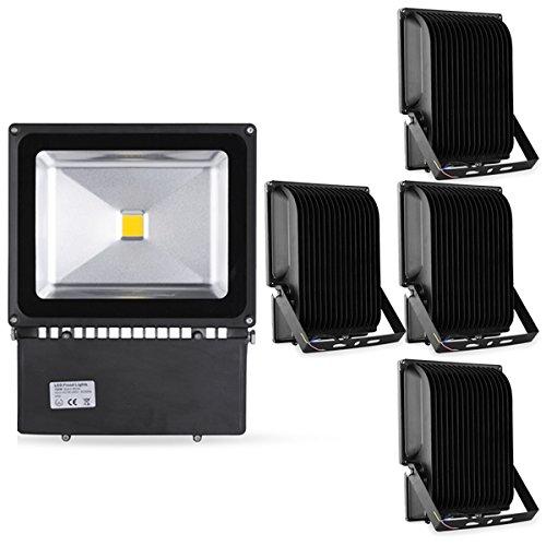 5*100W spot projecteur à LED intérieur pour sale d'exposition &supermarché blanc chaud 2800k-3200k