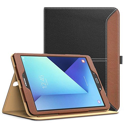 MoKo-Tab-S3-97-Funda-Ultra-Slim-Funcin-de-Soporte-Smart-Cover-Case-Plegable-para-Samsung-Galaxy-Tab-S3-97-pulgada-2017-Tablet-SM-T820T825-con-Documento-Card-Slots-Auto-Estela-Sueo-mltiples-ngulos-de-v