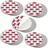 mumbi 5-er Set Magnetbefestigung für Rauchmelder Magnet Befestigung, glatte Flächen, 4251077215002