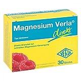 Magnesium Verla direkt Granulat Himbeere 30 stk