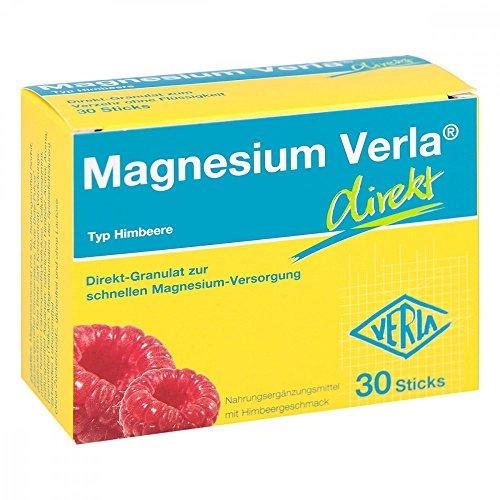 Magnesium Verla direkt Typ Himbeere Sticks, 30 St. Beutel