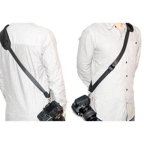 JJC NS-J1 - Quick Strap Kameragurt (Tragegurt, Schultergurt, Trageriemen) für schonenden Tragekomfort - ergonomisch geformt - z.B. für Olympus E-3, E-5, E-300, E-330, E-400, E-410, E-420, E-450, E-500, E-510, E-520, E-600, E-620, E-M5