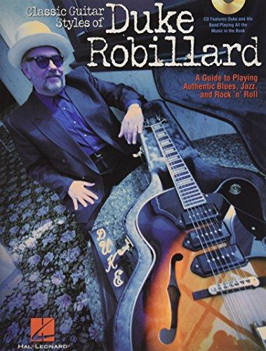 Classic guitar styles of duke robillard guitare