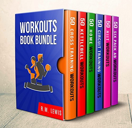 Workouts Ultimate Book Bundle: 6 Books in 1-300 Workouts in Total Consisting of Six Pack Ab Workouts, At Home Workouts, Cross Training, Circuit Training, HIIT and Kettlebell Workouts (English - Exercise Gym Total Book