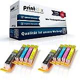 10x Kompatible Tintenpatronen für Canon Pixma MG 6800 Series MG 6850 MG 6850 Series MG 6851 MG 6852 MG 6853 PGI 570 CLI 571 Pigment Black Black Cyan Magenta Yellow - Easy Office Serie
