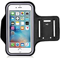 King of Flash Black High Quality Water Resistant [iPod Touch 4th, 5th,6th Generation] Neoprene Work Out Armband Perfect for Running, Jogging, Cycling, Gym, Yoga, Fitness and Much More!