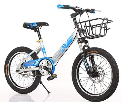 Kinderfahrrad,Jungen Und Mädchen 8-9-10-14 Jahre 18-Zoll-Scheibenbremsen Kinder Mountainbike