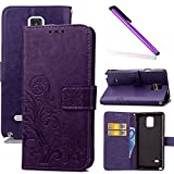 Best Samsung Case For Galaxy Note 4s - COTDINFOR Samsung Note 4 Case Wallet Bookstyle Pu Review