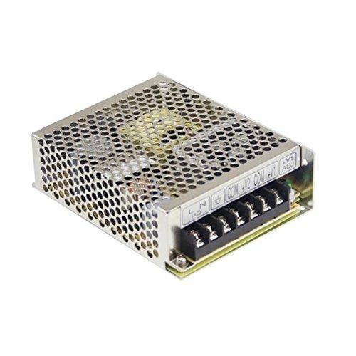 Schaltnetzteil / LED-Netzteil 72W 12V 6A ; MeanWell, RS-75-12