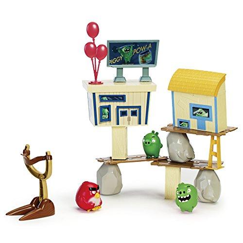 Angry Birds - Juego - Ataque En La Isla - Pig City Strike (Bizak 61920504)