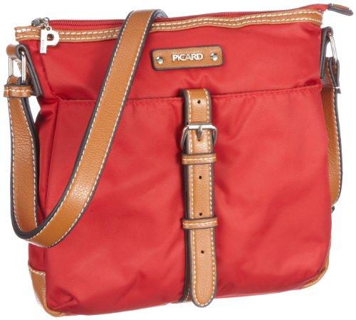 Picard Sonja 7830, Borsa donna, 23x24x4 cm (L x A x P) Rosso