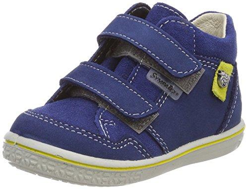 RICOSTA Jungen Juri Hohe Sneaker, Blau (Tinte), 21 EU -