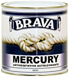 Brava Mercury Antivegetativa, Nero, 750 ml