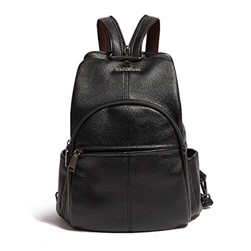 Frau Mode Persönlichkeit Wilde Beiläufige Rucksack-Taschen Black