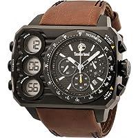 Reloj Timberland TBL.13673JSU/02 y digital de cuarzo para hombre con correa de piel, color marrón de Timberland