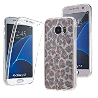 NWNK13Ž Samsung Galaxy S7 Ultra Thin 360- degree Protective Front And Back Complete Transparent Plain / Patterned TPU Gel Case. (CSPL)