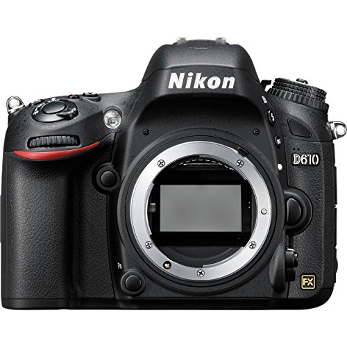 Nikon D610 24.3 MP Digital SLR Camera (Black) with Body...