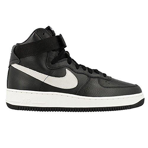 Nike Air Force 1 Hi Retro Qs, Chaussures de Handball Homme Noir / Blanc  (Black / Summit White)