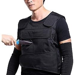 OBLLER Gilet de protection contre les armes tranchantes, Protection avant et arrière du haut du corps