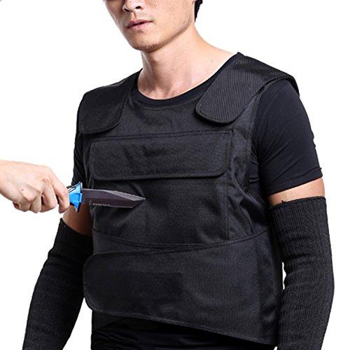 Stichfeste Unterziehweste/Körperpanzerung, schützt Brust und Rücken -