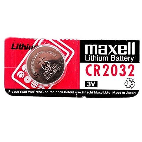 CR2032 Batterie de Pièces de Monnaie / Lithium 3V /