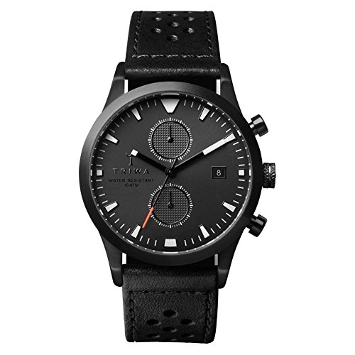 Mens Triwa Sort of Black Lansen Chrono Chronograph Watch LCST112CR010113