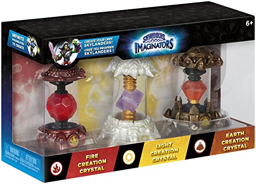 Price comparison product image Skylanders Imaginators - Crystal 3 Pack - Earth, Light and Fire (PS4/Xbox One/Xbox 360/PS3/Nintendo Wii U)