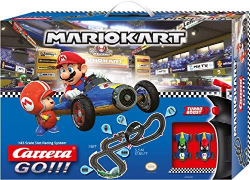 Carrera GO!!! Nintendo Mario KartTM 8 Mach 8 5,3 Meter 20062492 Autorennbahn Set