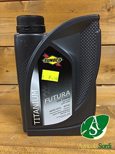 olio-lubrificante-futura-10w40-titanium-sintetico-motore-auto-sunoco-xenon-mercedes-bmw-petronas