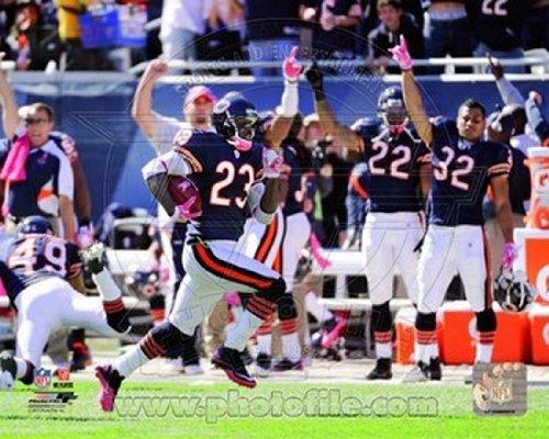 Devin Hester NFL Record 11th Punt Return Touchdowns 2011 Action Photo Print (40,64 x 50,80 cm)